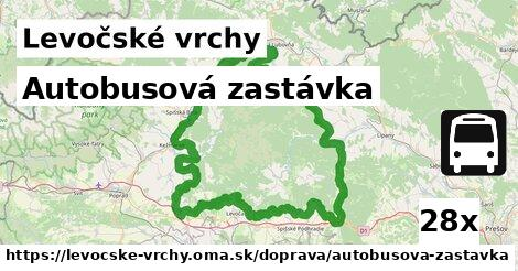 ilustračný obrázok k Autobusová zastávka, Levočské vrchy