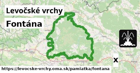 ilustračný obrázok k Fontána, Levočské vrchy