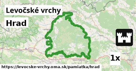 ilustračný obrázok k Hrad, Levočské vrchy