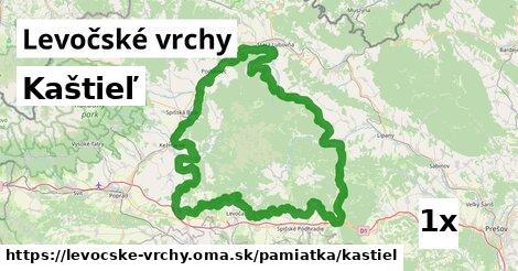 ilustračný obrázok k Kaštieľ, Levočské vrchy