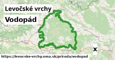 ilustračný obrázok k Vodopád, Levočské vrchy