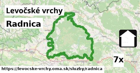 ilustračný obrázok k Radnica, Levočské vrchy