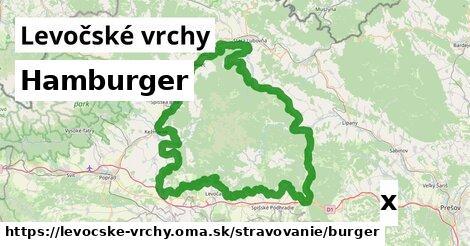 ilustračný obrázok k Hamburger, Levočské vrchy