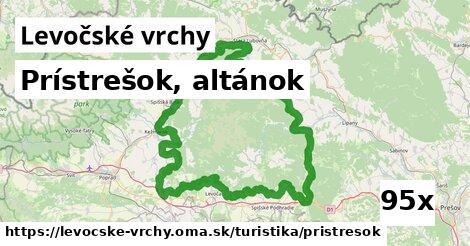 ilustračný obrázok k Prístrešok, altánok, Levočské vrchy