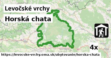 ilustračný obrázok k Horská chata, Levočské vrchy