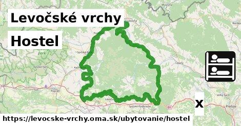 ilustračný obrázok k Hostel, Levočské vrchy