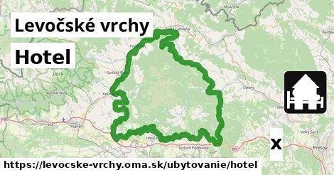 ilustračný obrázok k Hotel, Levočské vrchy