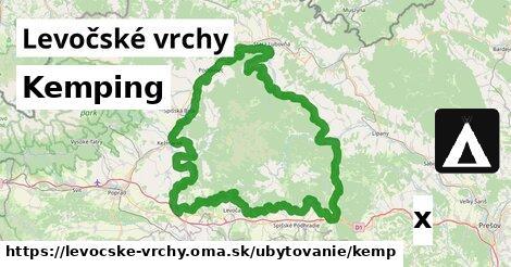 ilustračný obrázok k Kemping, Levočské vrchy