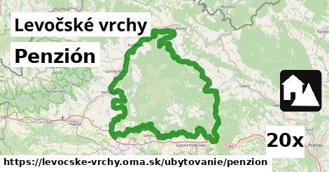 ilustračný obrázok k Penzión, Levočské vrchy