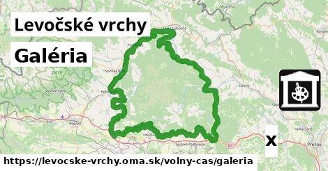 ilustračný obrázok k Galéria, Levočské vrchy