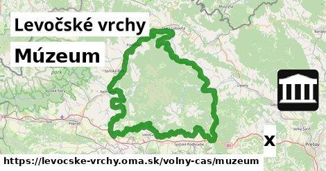 ilustračný obrázok k Múzeum, Levočské vrchy