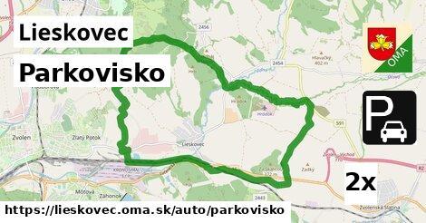 ilustračný obrázok k Parkovisko, Lieskovec