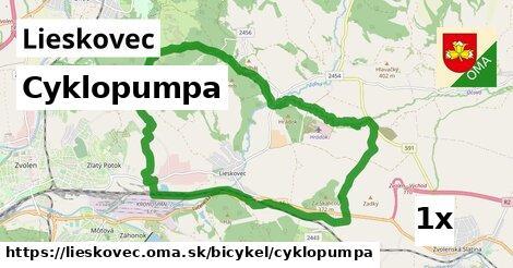 ilustračný obrázok k Cyklopumpa, Lieskovec