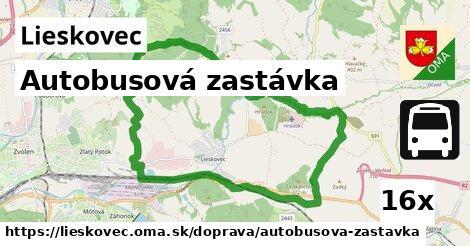 ilustračný obrázok k Autobusová zastávka, Lieskovec