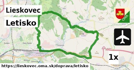 ilustračný obrázok k Letisko, Lieskovec
