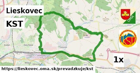 ilustračný obrázok k KST, Lieskovec
