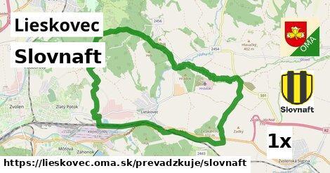 ilustračný obrázok k Slovnaft, Lieskovec