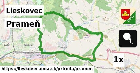 ilustračný obrázok k Prameň, Lieskovec