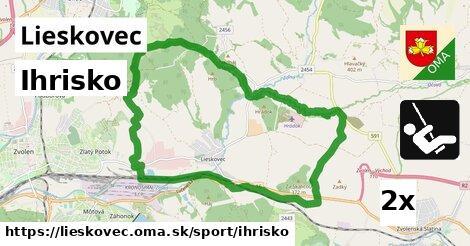 ilustračný obrázok k Ihrisko, Lieskovec