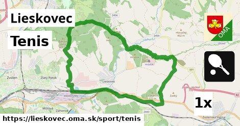 ilustračný obrázok k Tenis, Lieskovec