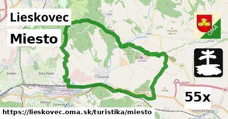 ilustračný obrázok k Miesto, Lieskovec