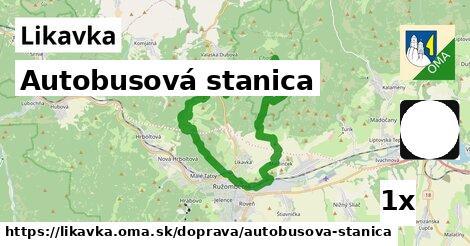 ilustračný obrázok k Autobusová stanica, Likavka