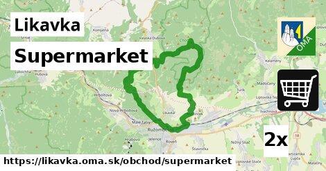 ilustračný obrázok k Supermarket, Likavka