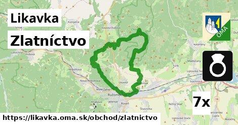 ilustračný obrázok k Zlatníctvo, Likavka