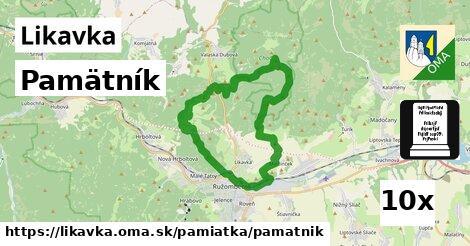 ilustračný obrázok k Pamätník, Likavka