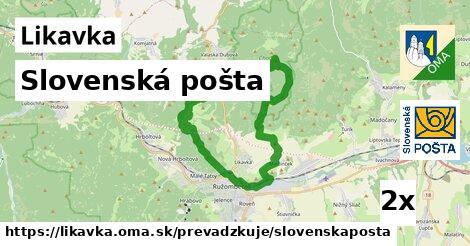 ilustračný obrázok k Slovenská pošta, Likavka