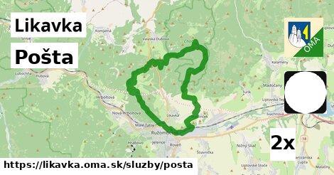ilustračný obrázok k Pošta, Likavka