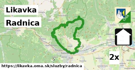 ilustračný obrázok k Radnica, Likavka