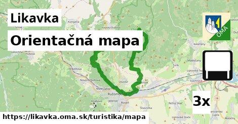 ilustračný obrázok k Orientačná mapa, Likavka