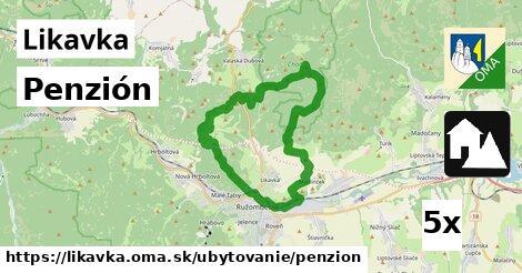 ilustračný obrázok k Penzión, Likavka