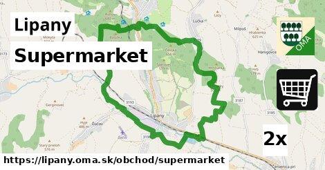 Supermarket, Lipany