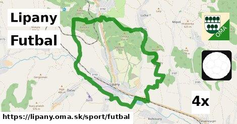 Futbal, Lipany