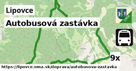 ilustračný obrázok k Autobusová zastávka, Lipovce