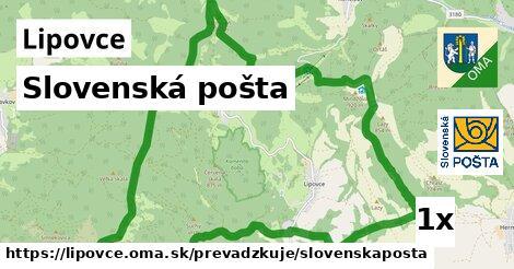 ilustračný obrázok k Slovenská pošta, Lipovce