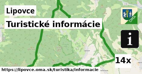 ilustračný obrázok k Turistické informácie, Lipovce