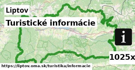 ilustračný obrázok k Turistické informácie, Liptov