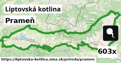 ilustračný obrázok k Prameň, Liptovská kotlina