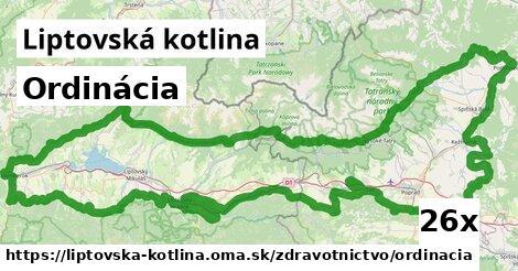ilustračný obrázok k Ordinácia, Liptovská kotlina
