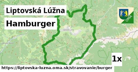 ilustračný obrázok k Hamburger, Liptovská Lúžna