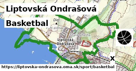 basketbal v Liptovská Ondrašová