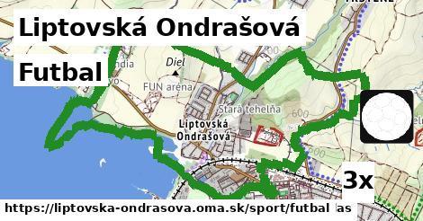 futbal v Liptovská Ondrašová