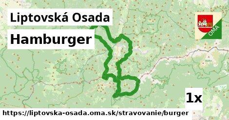 hamburger v Liptovská Osada