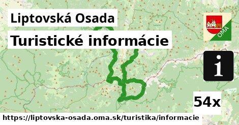 ilustračný obrázok k Turistické informácie, Liptovská Osada