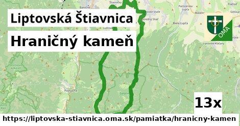 ilustračný obrázok k Hraničný kameň, Liptovská Štiavnica