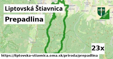 ilustračný obrázok k Prepadlina, Liptovská Štiavnica