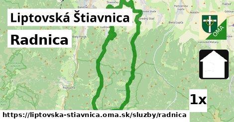 ilustračný obrázok k Radnica, Liptovská Štiavnica